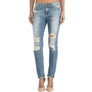 Joe's Jeans Slouched Slim Cali Ripped Distressed